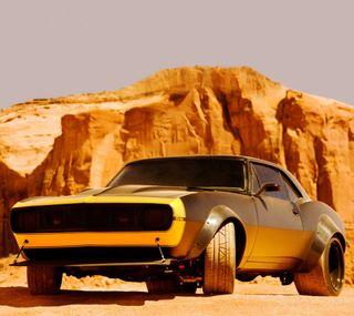 Обои на телефон колеса, шевроле, пустыня, мускул, машины, камаро, горы, ss, cliffs, chevrolet, 1967