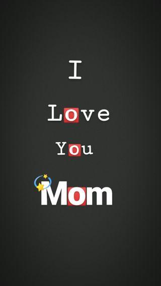 Обои на телефон мама, черные, ты, париж, любовь, логотипы, mummy, maa, love, i love you mom