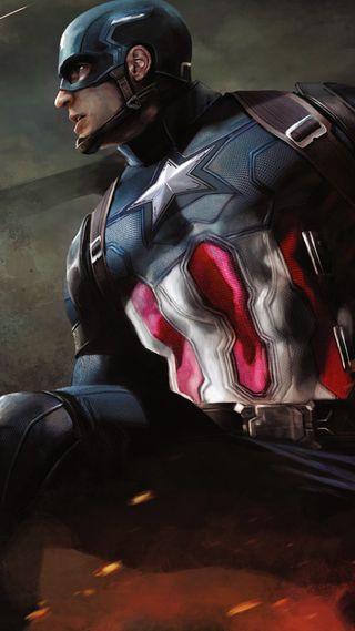 Обои на телефон супергерои, марвел, капитан, гражданская, война, америка, marvel