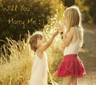 Обои на телефон дети, я, прекрасные, правда, пара, любовь, забавные, жена, marry me, love