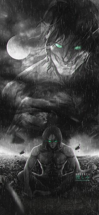 Обои на телефон эрен, микаса, манга, атака на титанов, аниме, shingekinnokyojin, livai, eren yeager, attackontitan, armin
