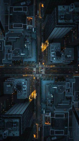 Обои на телефон компьютер, технологии, телефон, ночь, новый, логотипы, город, внутри, information