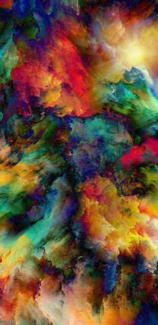 Обои на телефон шторм, цветные, фото, супер, микс, красочные, космос, дизайн, взрыв