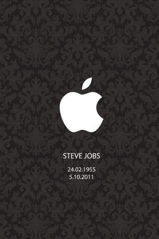 Обои на телефон честь, эпл, черные, стив, винтаж, айфон, steve jobs, rip steve, mac, iphone 4, apple