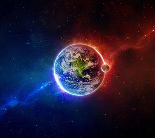 Обои на телефон планета, природа, наука, земля, hd