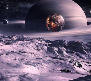 Обои на телефон космос, вселенная, галактика, planeta, galaxy