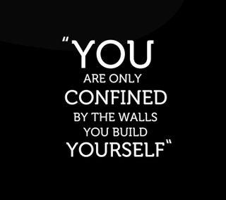 Обои на телефон себя, поговорка, будь, confind, build, be yourself