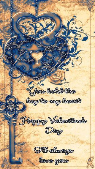Обои на телефон ключ, сердце, любовь, день, валентинки, valentines day 2, love