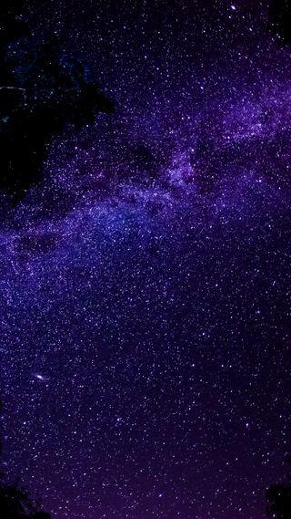 Обои на телефон путь, молоко, звезды, галактика, galaxy