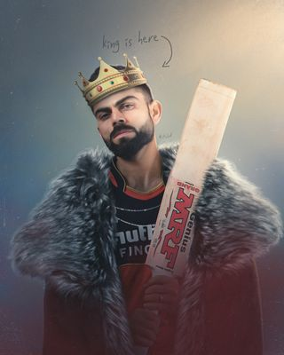 Обои на телефон крикет, король, индия, rcb, king kohli