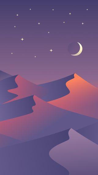 Обои на телефон элегантные, чистые, цветные, пустыня, прекрасные, ночью, nightfall, desert nights 1, 929