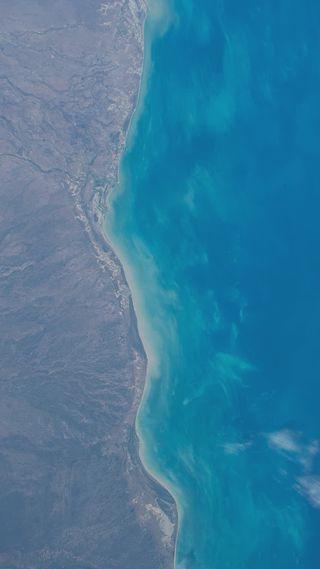 Обои на телефон цвета, простые, море, вода, simple colours sea