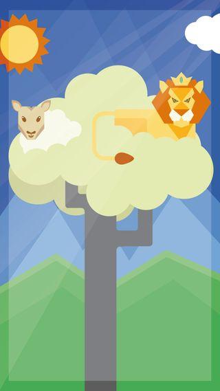 Обои на телефон ягненок, погода, овца, лев, дождь, весна, lamb and lion