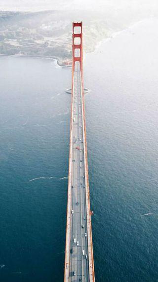 Обои на телефон сан, мост, океан, небо, калифорния, золотые, ворота, francisco, 49ers