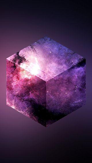 Обои на телефон формы, куб, другие