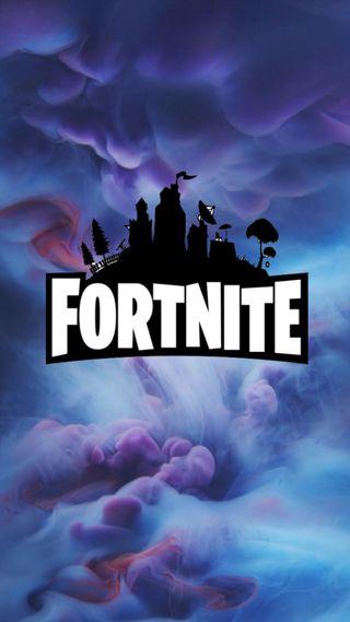 Обои на телефон персонажи, фортнайт, синие, логотипы, игра, дым, айфон, iphone, fortnite logo, fortnite game, fortnite character, fortnite