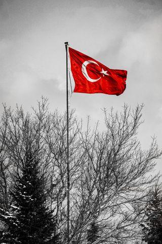 Обои на телефон флаги, флаг, турецкие