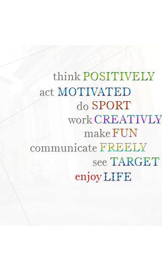 Обои на телефон креативные, фан, наслаждаться, жизнь, думать, target, communicate, act