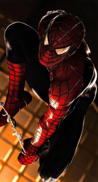 Обои на телефон постер, человек паук, фильмы, spiderman movie