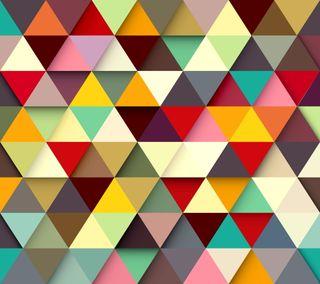 Обои на телефон геометрия, цветные, фон, красочные, абстрактные, trigons