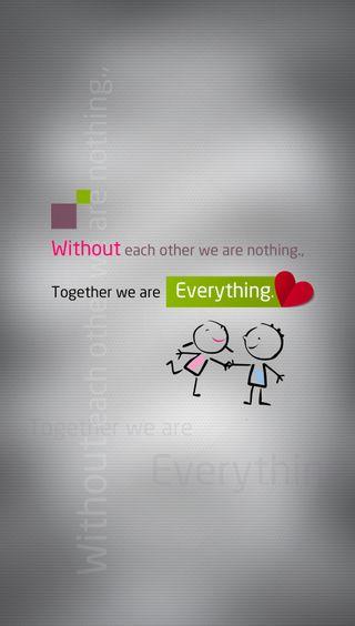 Обои на телефон слова, сердце, правда, любовь, жизнь, время, вместе, together everything, love