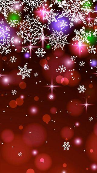 Обои на телефон украшение, снег, рождество, пузыри, праздник, мяч, красые