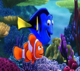 Обои на телефон рыба, фильмы, немо, мультфильмы, hd
