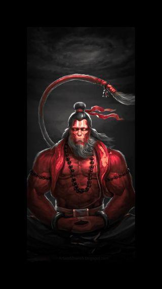 Обои на телефон хануман, бог, power god, hanuman ji, bajrangbali