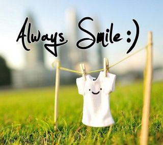 Обои на телефон всегда, смайлики, always smile, 2880x2560