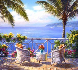 Обои на телефон приятные, море, взгляд, by the sea