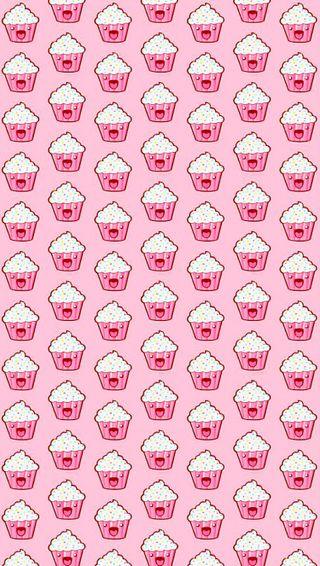 Обои на телефон чашка, торт, симпатичные, сахар, розовые, любовь, кекс, вкусный, tasty, love, cupcakes, cup