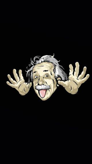 Обои на телефон эйнштейн, забавные, physicist, albert