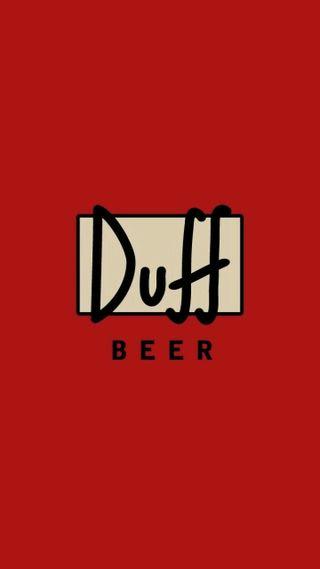 Обои на телефон пиво, duff beer