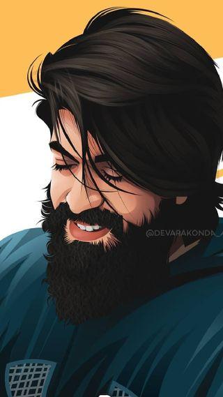 Обои на телефон пчела, борода, актер, kgf 2, beard man