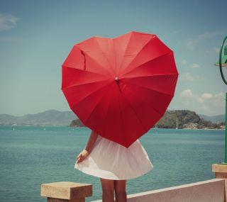 Обои на телефон амбрелла, сердце, романтика, мечта, любовь, девушки, love