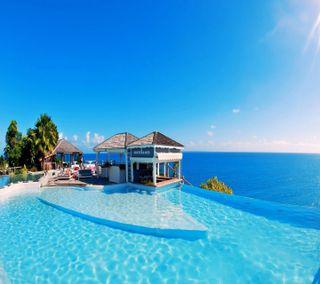 Обои на телефон курорт, взгляд, приятные, resort on oceanside