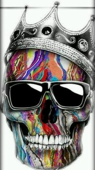 Обои на телефон череп, марихуана, король, деньги, гуччи, версаче, supreme, stussy, king skull, gucci, bathing ape