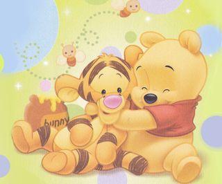 Обои на телефон пух, тигр, дисней, pooh and tiger, disney
