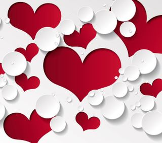 Обои на телефон формы, сердце, любовь, love, hd