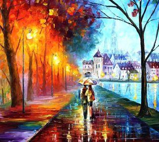 Обои на телефон прогулка, осень, любовь, z2, s5, s4, s3, m8, love, autumn walk