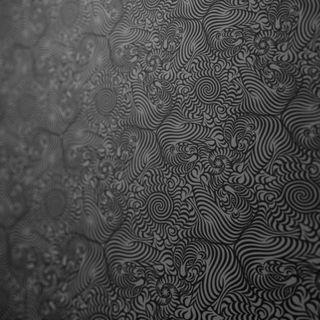 Обои на телефон узоры, эпл, черные, текстуры, новый, мини, белые, textures black patt, i pad 4, apple, 2014