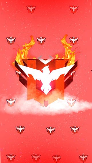 Обои на телефон красные, гарена, свобода, огонь, красые, heroico, gran maestro, garena free fire, free fire, donato