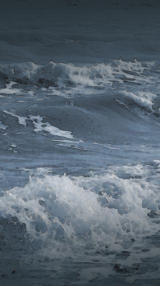 Обои на телефон штормовой, шторм, море, волны, вода, ветер, windy, stormy seas