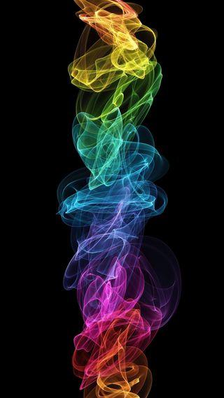 Обои на телефон пламя, огонь, красочные, арт, абстрактные, xperia, vertical, hd, art, 1080p