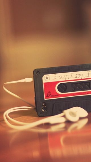 Обои на телефон наушники, настроение, музыка, игрок, cassette