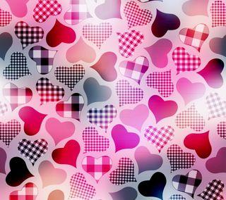 Обои на телефон сердце, розовые, любовь, красые, красочные, абстрактные, love