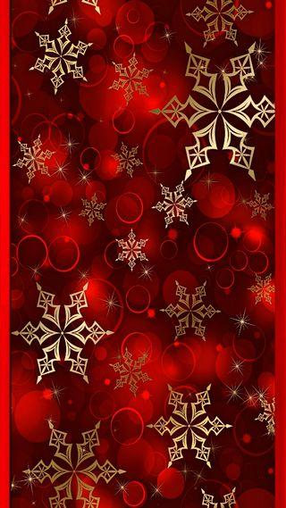 Обои на телефон снежинки, снег, рождество, красые, грани, s7 edge snowflakes
