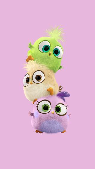 Обои на телефон фильмы, птицы, малыш, злые, забавные, аниме, baby birds, angry bird
