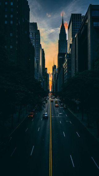Обои на телефон свет, огни, клинок, день, город, runner, resullcanndemirrx, orginal, maze, last, knights