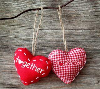 Обои на телефон вместе, сердце, романтика, навсегда, любовь, дерево, love, handcraft